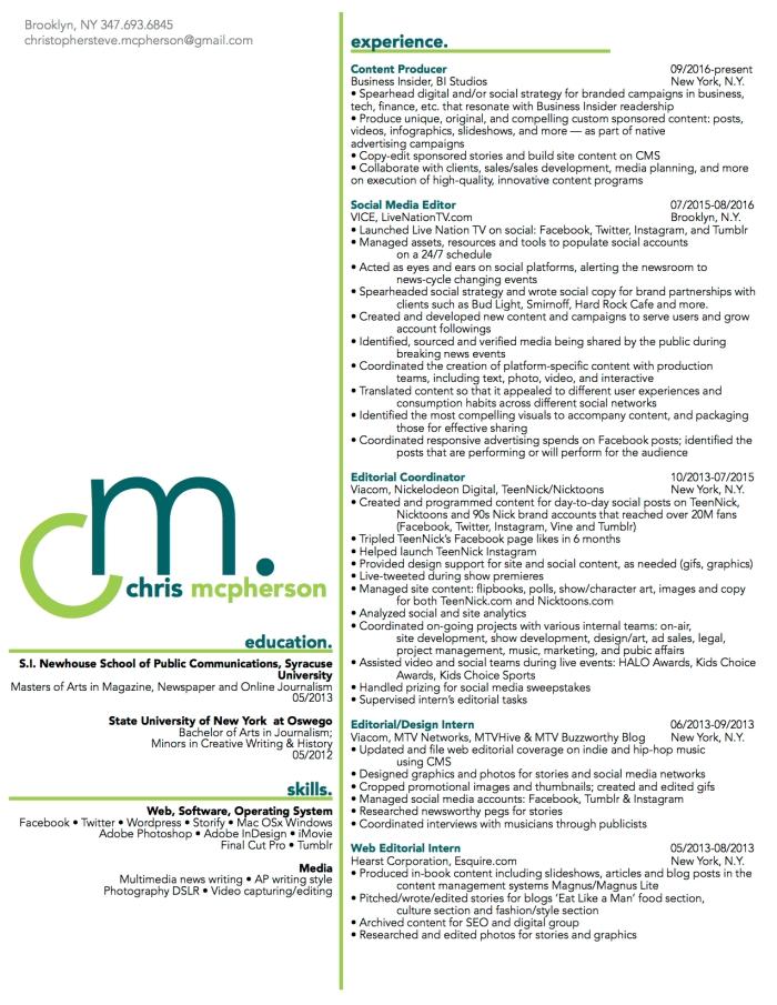 Chris McPherson Resume-03-2017